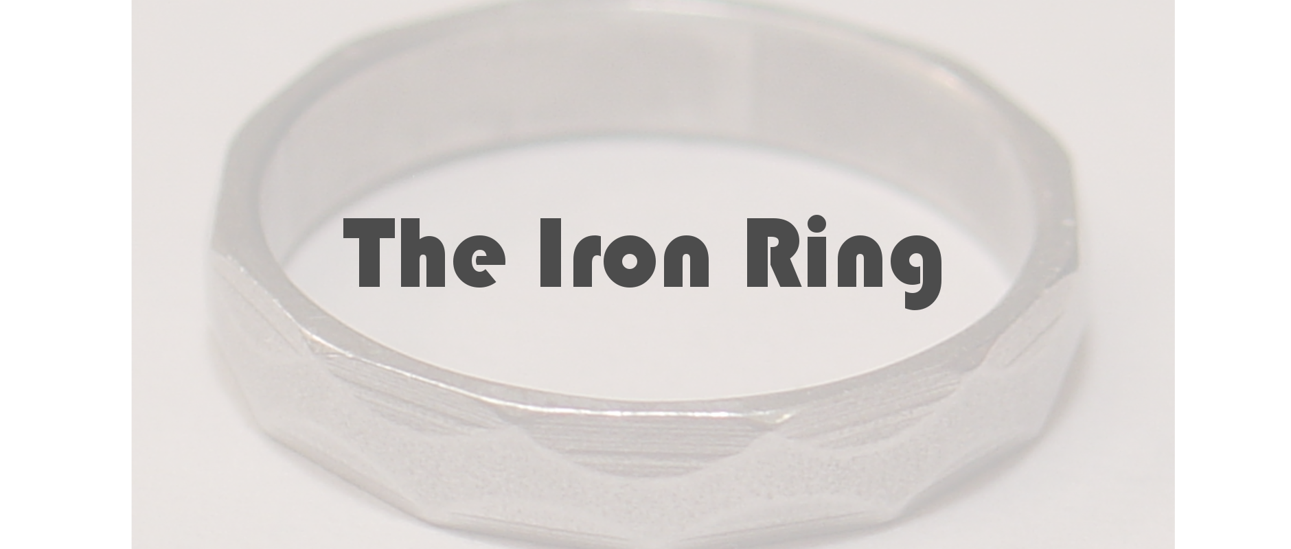 Iron Ring Reflection: Chrissy Ure