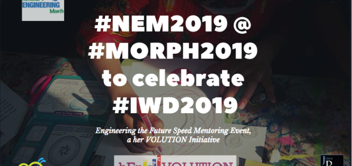 NEM funds hEr VOLUTION to help honour International Women's Day by bringing engineering initiatives to young women in GTA
