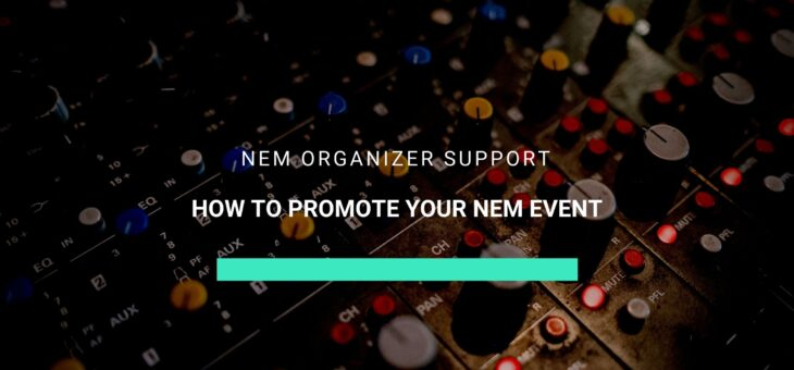 Promote your NEM event with these marketing tips
